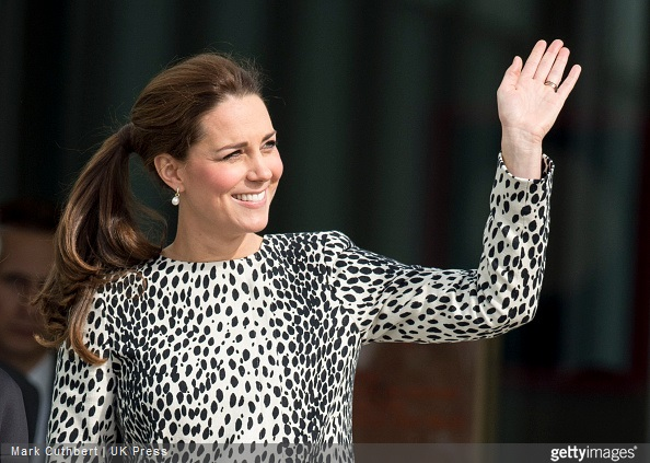 Catherine, Duchess of Cambridge leaves The Turner Contemporary