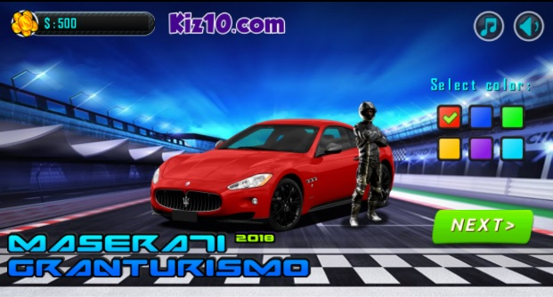 Jugar en línea Maserati Gran Turismo 2018