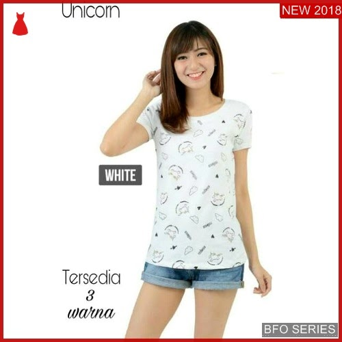 BFO069B26 TUMBLR Model TEE UNICORN Jaman Now MODIS BMGShop