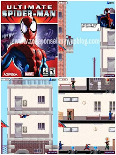 Ultimate Spider-Man game ponsel Java jar