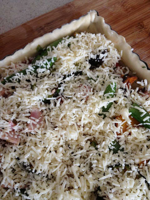 Sweet Kwisine, tarte, légumes, caviar d'aubergine, courgette, poivrons
