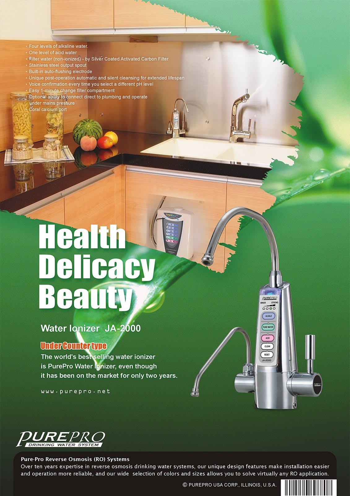 PurePro USA Water Ionizer JA-2000