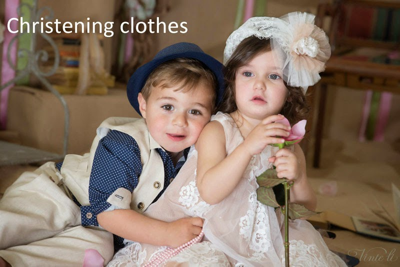 Clothes for christenings