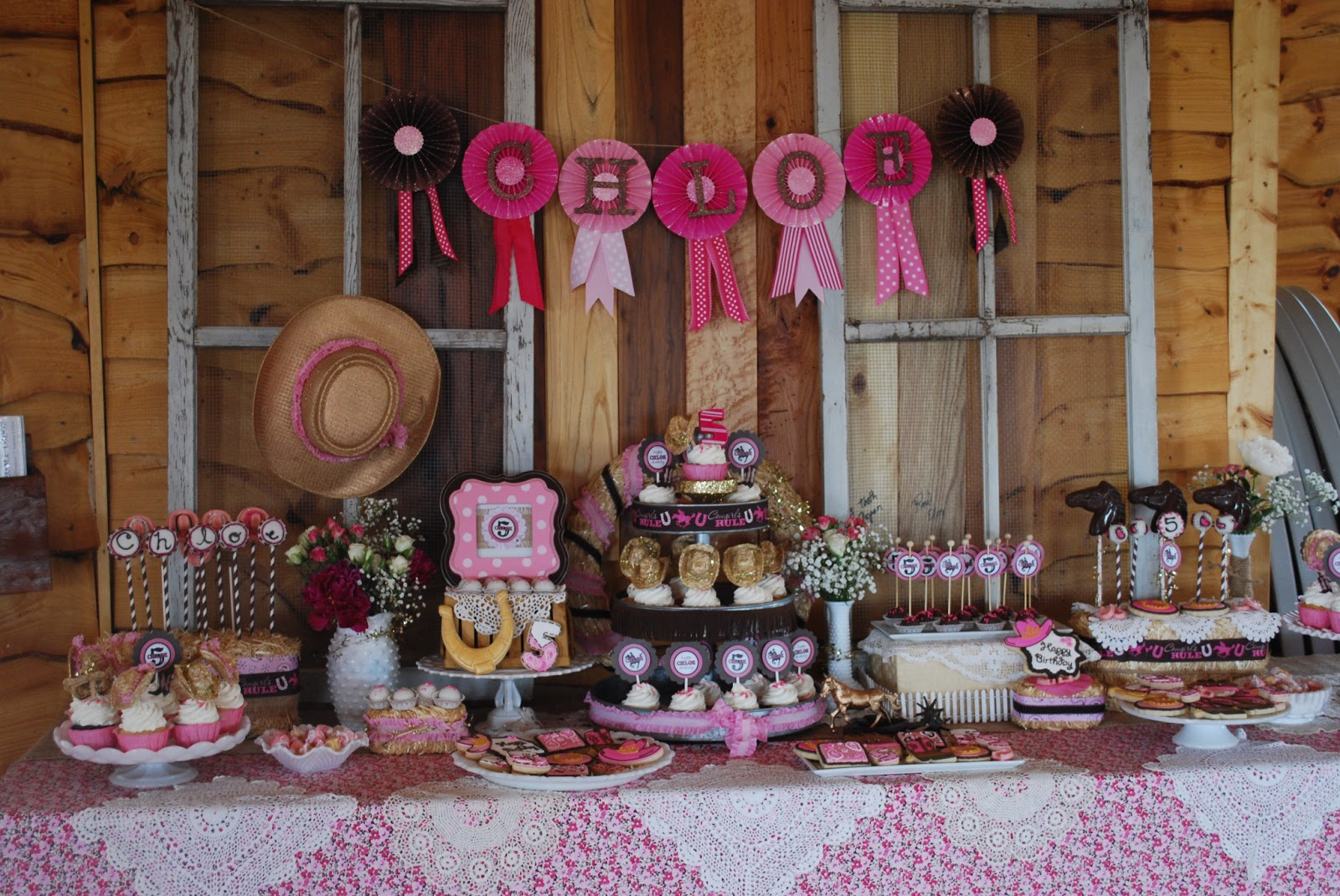 Unisex Bedroom Ideas Sweet Cheeks Tasty Treats Celebrate Chloe S Cowgirl