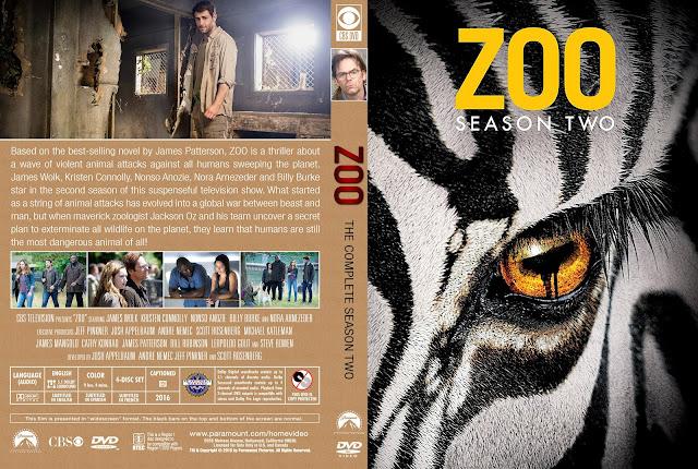 Zoo Season 2 DVD Cover