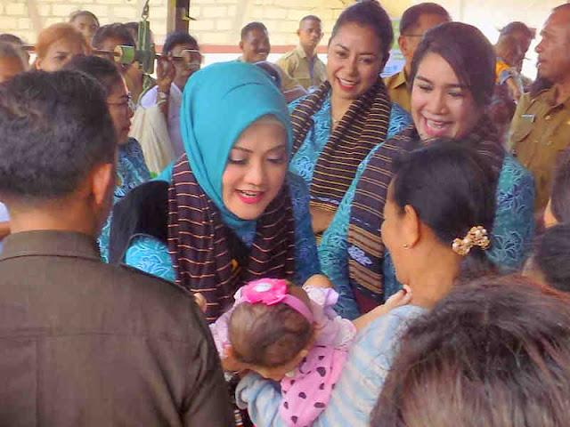 Widya Murad Ismail Minta Masyarakat Tanimbar Perangi Stunting