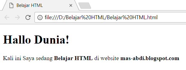 Untuk membuat sebuah huruf menjadi tebal dalam HTML Cara Membuat Huruf Tebal Dalam HTML Dengan Tag b dan Tag strong