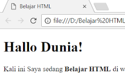 Cara Membuat Huruf Tebal Dalam HTML Dengan Tag b dan Tag strong