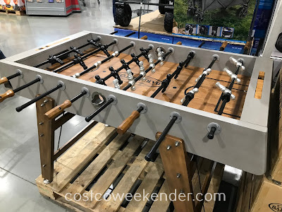 Have some good old-fashioned fun with the Barrington Foosball Table