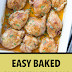 Easy Baked Chicken Thighs So Juicy and Tender