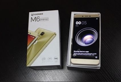 Gionee M6 Mirror Mobile Full Specifications & Price