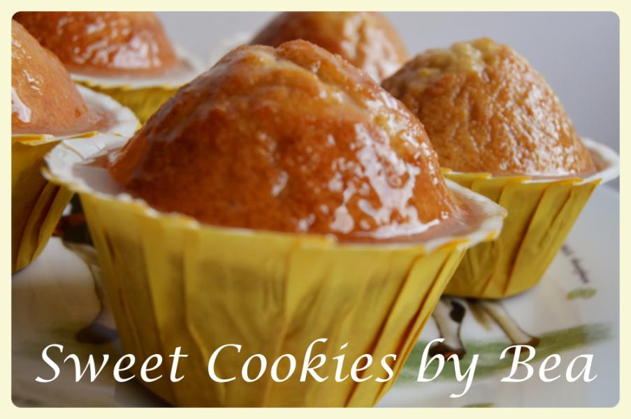 magdalenas-sabor-donuts, donuts-muffins, lemon-glaze