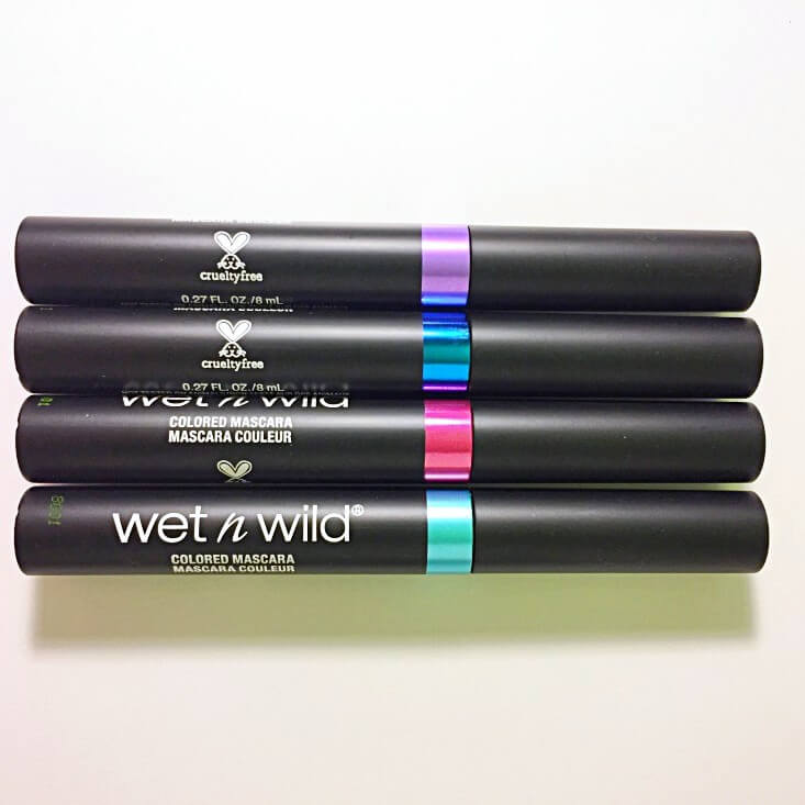 wet n wild Fantasy Makers Color Blast Colored Mascaras