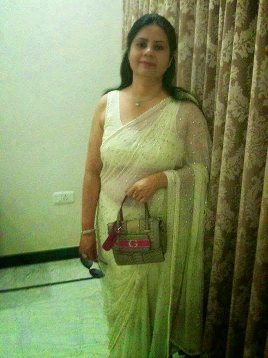 Desi Beautiful Indian Hot Housewife In Saree Photos -7888
