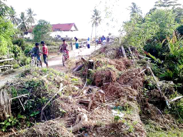 Proyek BNPB Pusat Ini Ganggu Warga dan Nelayan Abdya