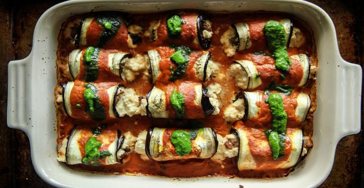 Delicious Lasagna Recipe With Rolled Eggplant