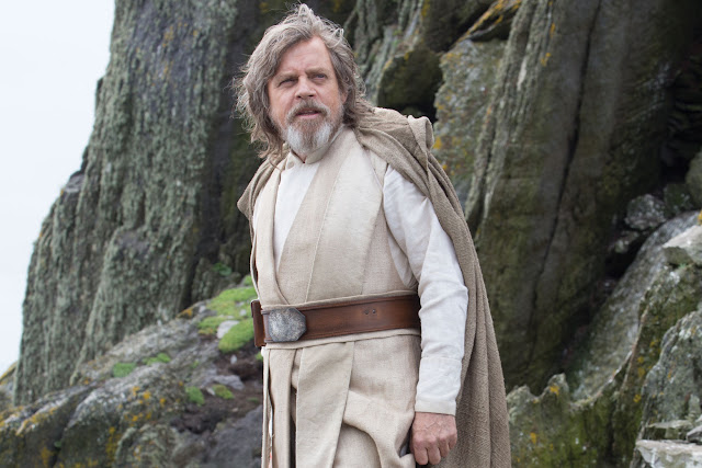 uke Skywalker (Mark Hamill) dans Star Wars 8, les derniers jedi