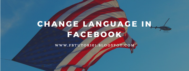 How Can I Change My Language In Facebook