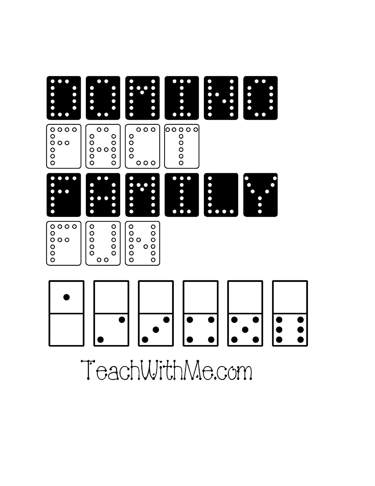 Classroom Freebies Fact Family Domino Packet