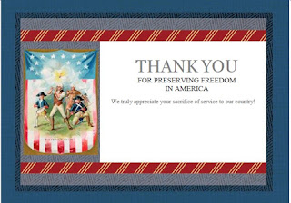 Free 4th of July Printable Cards
