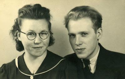 Vroukje Meijer en Meindert van Haeften, febr. 1943