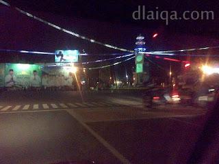sampai di Bundaran Tugu Adipura, Bandar Lampung
