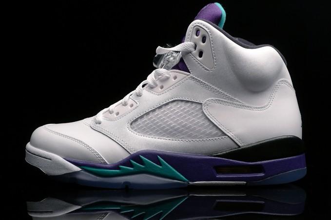 f4c42e53cf8b5d Just Dropped  Shelflife  Nike Air Jordan 5 Retro Grape