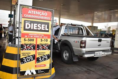 ANP reduz preços de referência do diesel em até 10,44%; Petrobras corta preço às distribuidoras