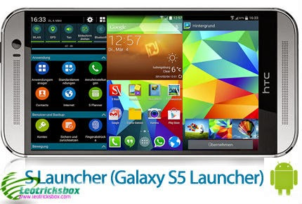 Android App : Galaxy S5 Launcher