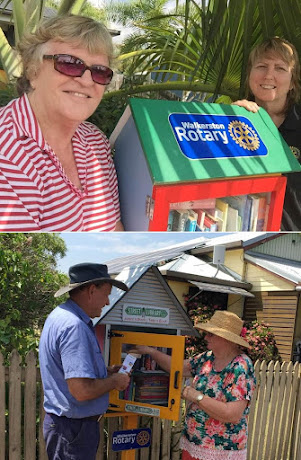 Walkerston Rotary's Free Little Street Libraries