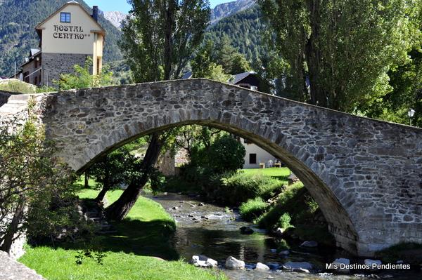 Puente del Paco (Sallent de Gállego, Huesca)