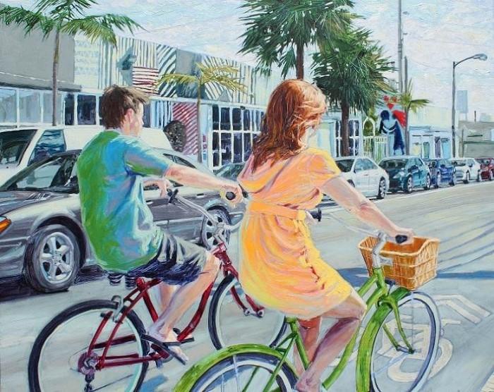 Кубинский художник. William Acosta