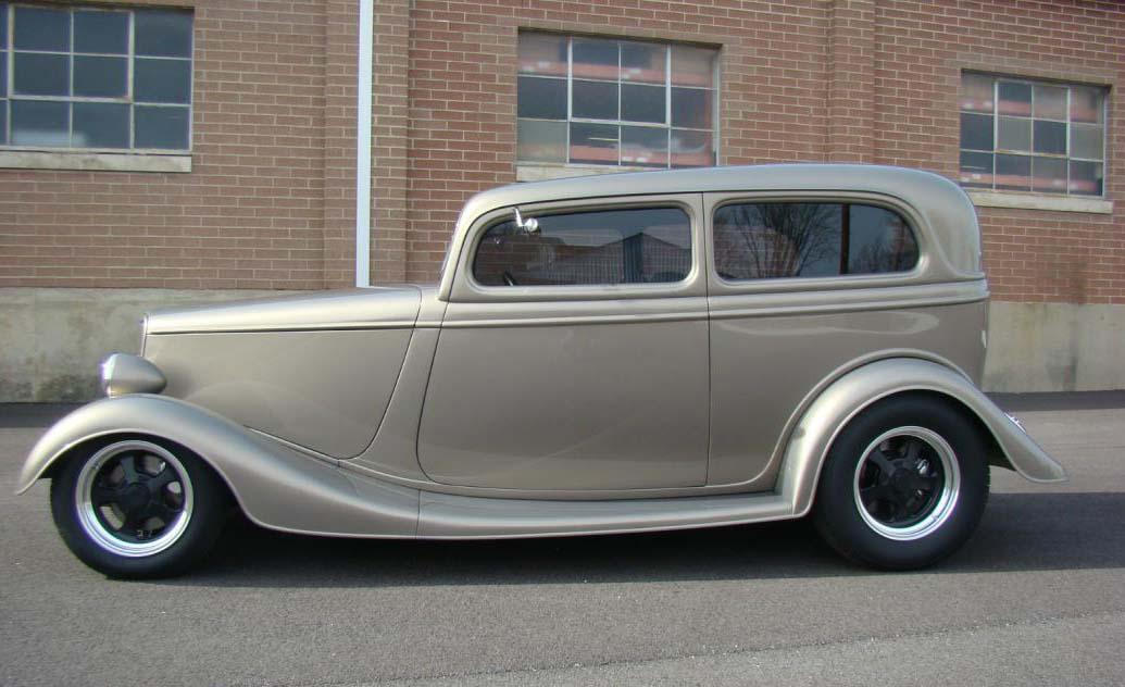 1933 Ford Sedan Retro Hot Rod Rods Custom Picture