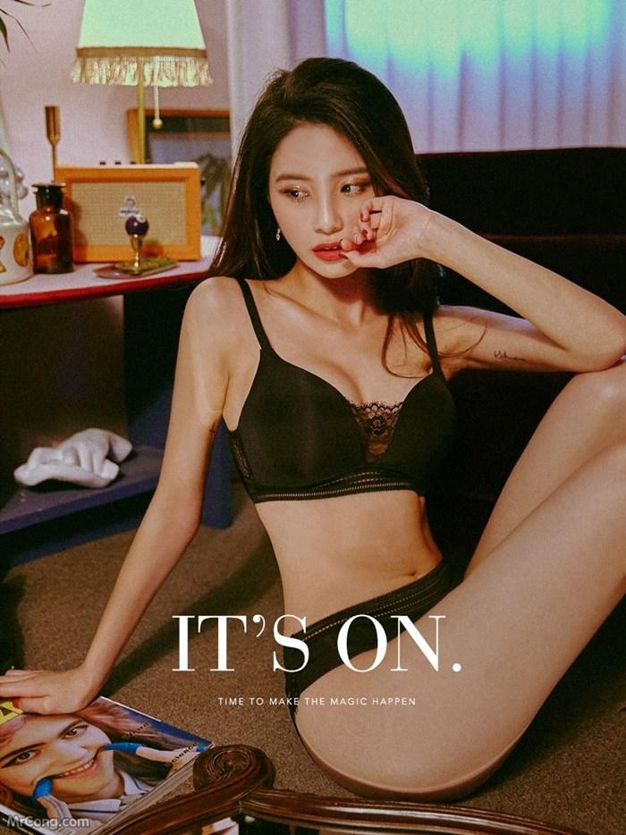 Image Korean-Model-Ju-Woo-012018-MrCong.com-020 in post Người đẹp Ju Woo trong bộ ảnh nội y tháng 01/2018 (50 ảnh)