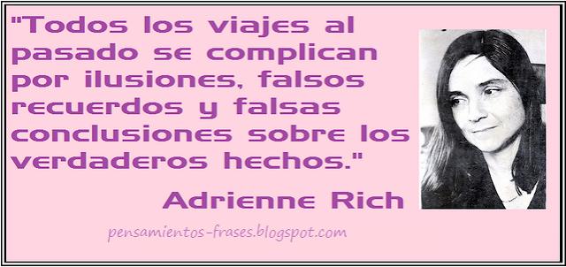 frases de Adrienne Rich