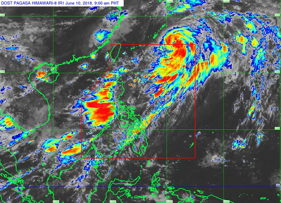 Typhoon Domeng PAGASA weather update June 10, 2018