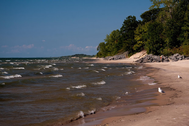 Sandy Beach Lake Ontario