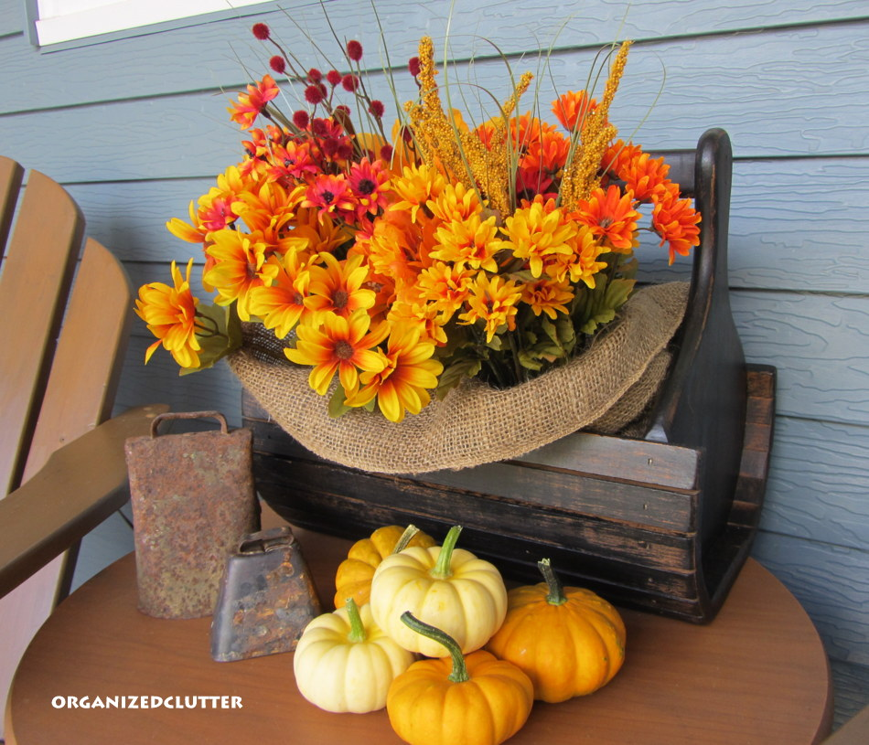 More Fall Outdoor Decor Organized Clutter