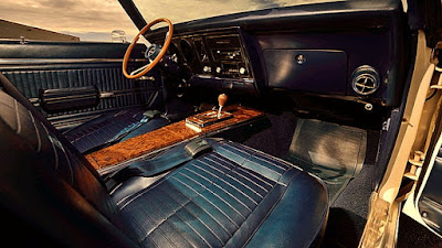 1969 Pontiac Trans AM Ram Air IV Interior Dashboard