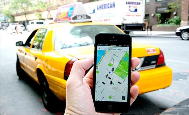 Taxistas españoles van a la huelga mañana contra Uber y Cabify