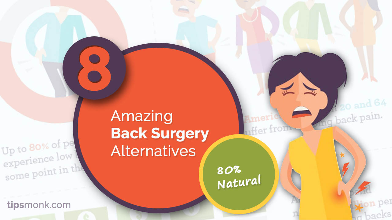 Back surgery alternatives - Natural remedies and treatments for back pain
