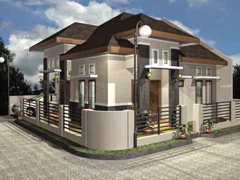 10 Contoh Gambar Desain Rumah Mewah