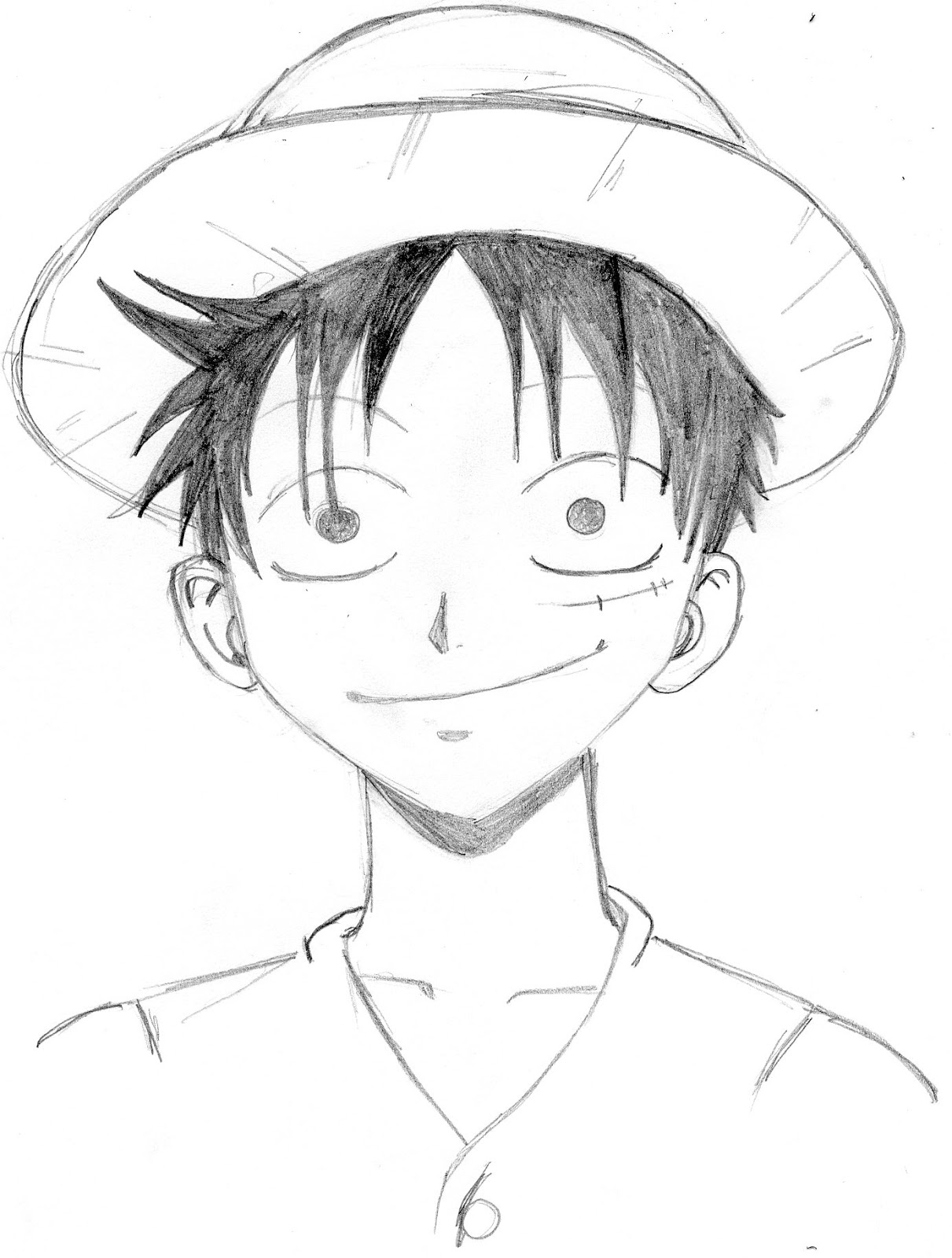 one piece coloring page  screenfonds