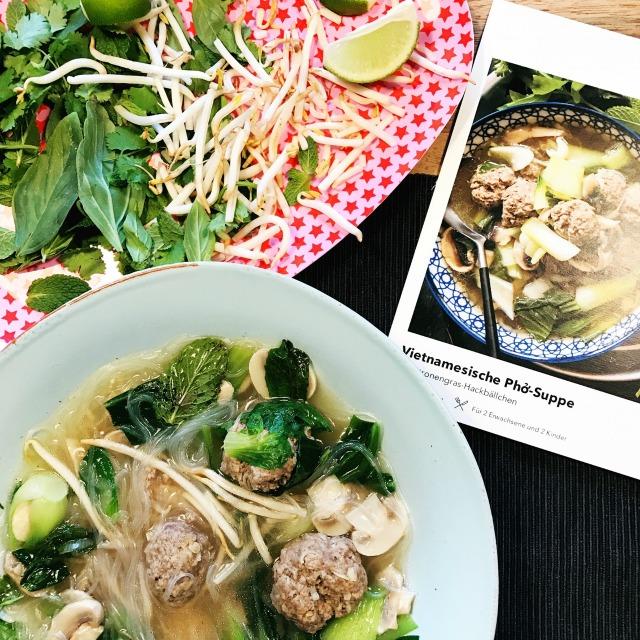 Asiatische Pho Suppe - Marley Spoon ... Frühstück bei Emma