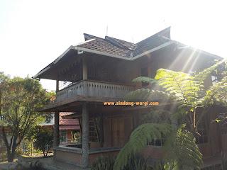 villa penginapan di wisata sari ater 3 kamar