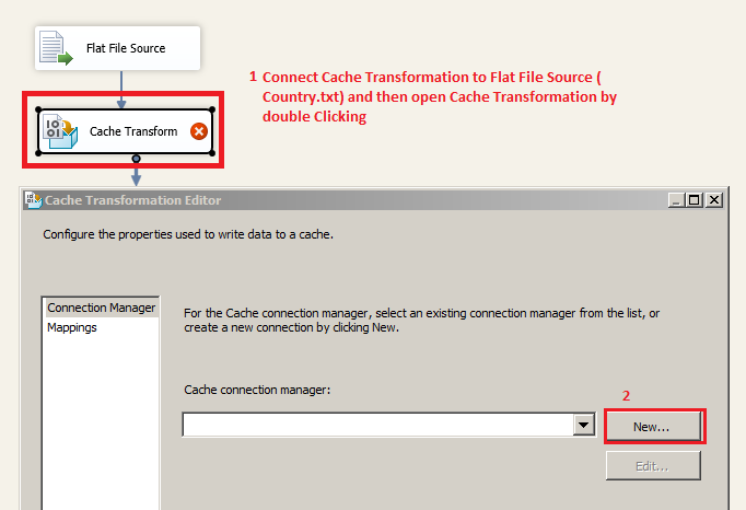 Welcome To TechBrothersIT: SSIS - How To Use Flat File Or