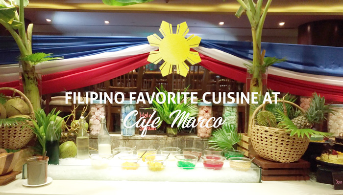 Cafe Marco salutes time-honored Filipino Favorite Cuisine