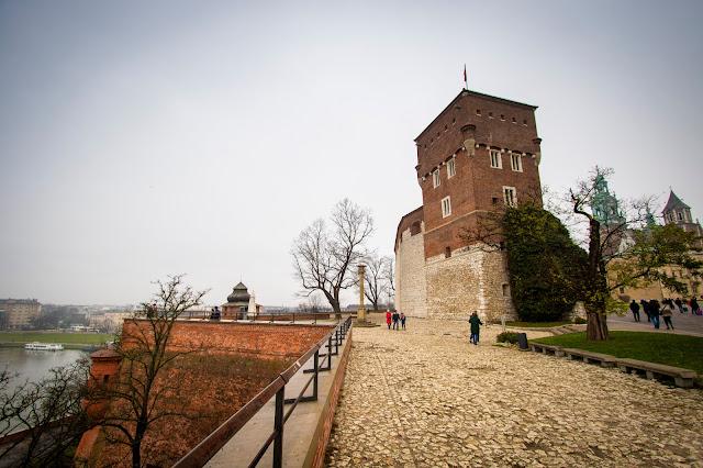 Panorama sulla Vistola-Castello del Wawel-Cracovia