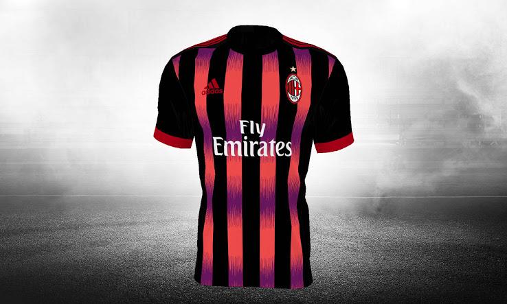 La tercera camiseta del AC Milan 2017-2018 Revelada  adb8a23764392