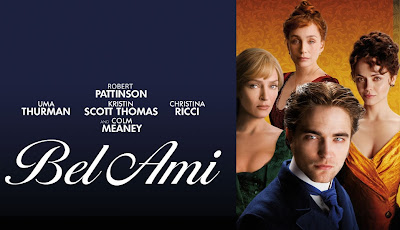 The movie adaptation of Bel Ami starring Robert Pattinson.